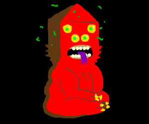 Golb From Adventure Time Drawception