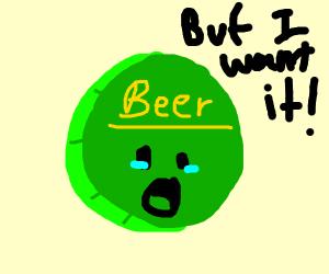 Childlike Bottle Cap