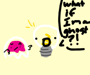 Lightbulb thinks it's a ghost