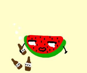 Drunk Watermelon