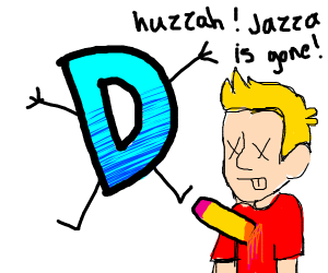 Drawception kills Jazza once and for all!