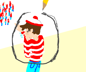 Waldo didn't want to be found