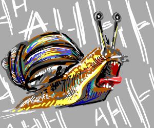 snail minion screaming