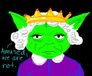 Queen of England-Yoda Hybrid