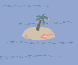 starfish palm tree