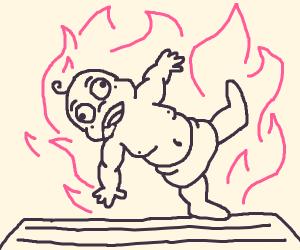 Baby Yoga Flame