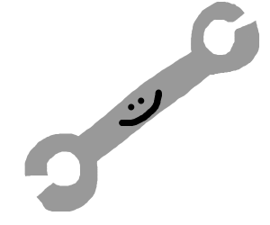 Happy wrench