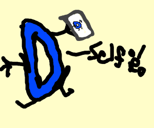 Drawception selfie