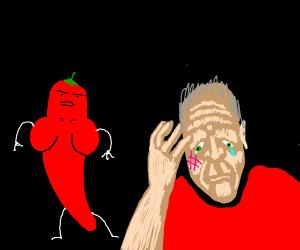 Hot pepper hitman
