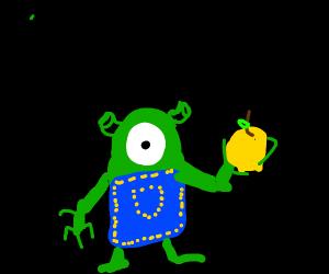 Shrek minion has a bapple