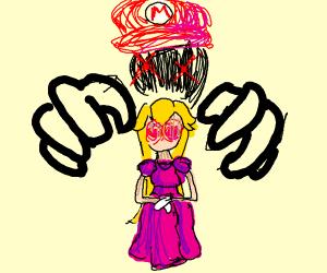 Mario possesses Peach