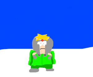 Butters as Professor Chaos