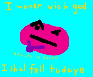 Kirby thinking