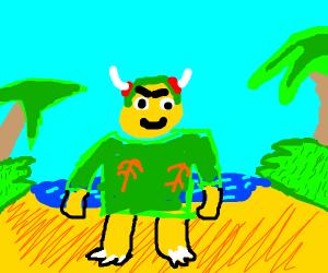 bowser hawaii shirt