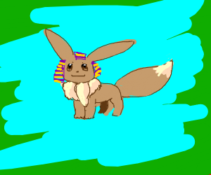 eeveelution egiption (egitip,sand evolution)