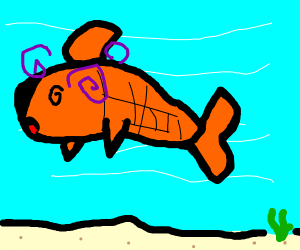 fish having a fever