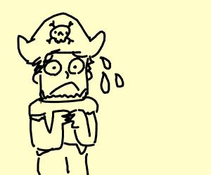 Stressed pirate