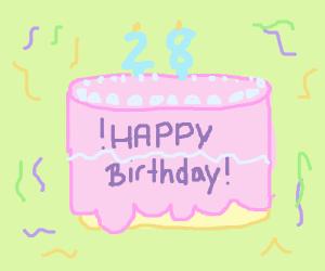 Happy 28th birthday to me!
