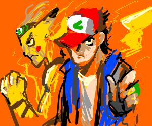 Pokémon anime but it's Jojo