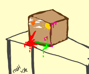 painting a box