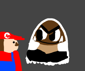 Goombah comes back to haunt Mario.