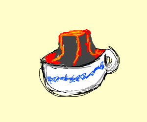 Volcano in a Teacup