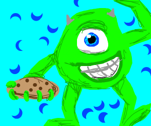 mike wazowski wants cookies