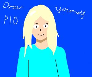 Draw yourself P. I. O