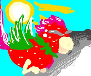 Strawberry Bird