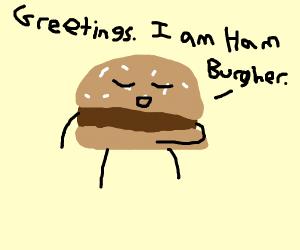 Living Burger meets you & introduces self