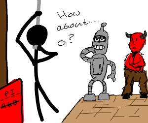Bender and the Devil plays Hangman