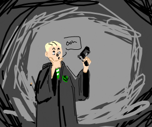 Guy from Slytherin is impressed with guns