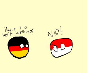 Germany talks to poland