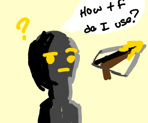 Robot, confused about how a crossbow works