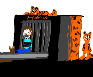 BEHOLD! THE GARFIELD-INATOR!
