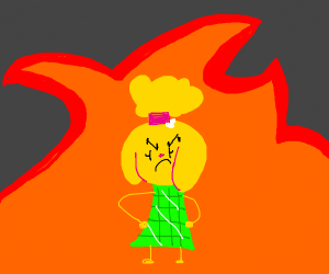 Angry Isabelle