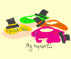 top hat donuts