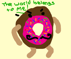 If delicious donut would be evil villain
