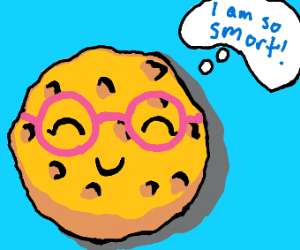 one smort cookie