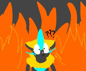 Zeraora in Hell