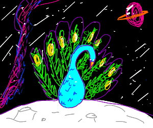 Space Peacock