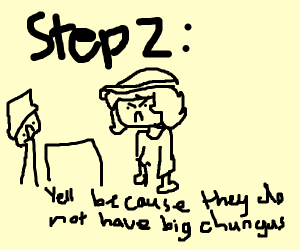 Step 1: See if Gamestop has Big Chungus