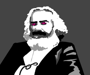 Carl Marx with missing texture eyes