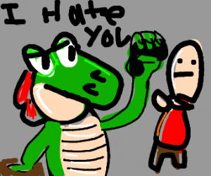 Dragon Does NOT Like YOu