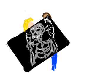 the invisible man takes an xray