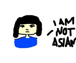 I'm not Asian