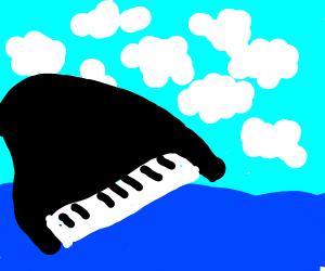 Piano crossing the Ocean