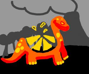 tangerine dinosaur