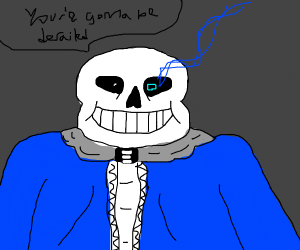 Sans! (I swear this isn't a derail)