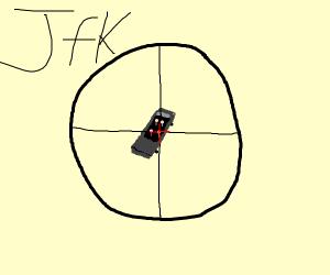 Sniper can't hit a Stickman